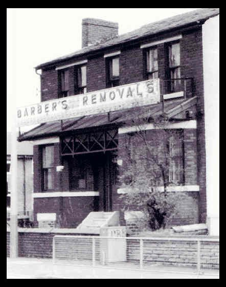Barber Industry : This is the house, No 2 Broom Lane, which was used as the Barbers ...